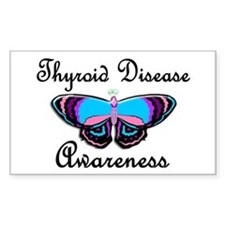 Butterfly Awareness 2 (Thyroid Disease) Decal