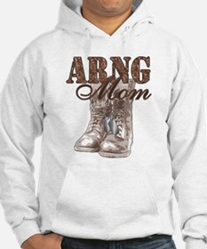 ARNG Mom Combat Boots N Dog Tags Jumper Hoody
