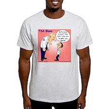 """""""Bathroom Break"""" Ash Grey T-Shirt"""