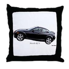 Mazda RX8 Throw Pillow
