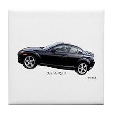 Mazda RX8 Tile Coaster