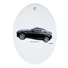 Mazda RX8 Oval Ornament