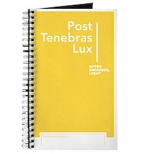 """""""After Darkness, Light"""" Notebook/Journal"""