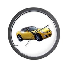 Saturn Sky A Wall Clock