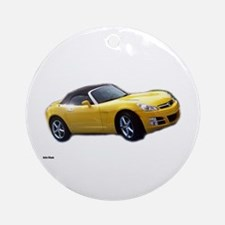 Saturn Sky A Ornament (Round)
