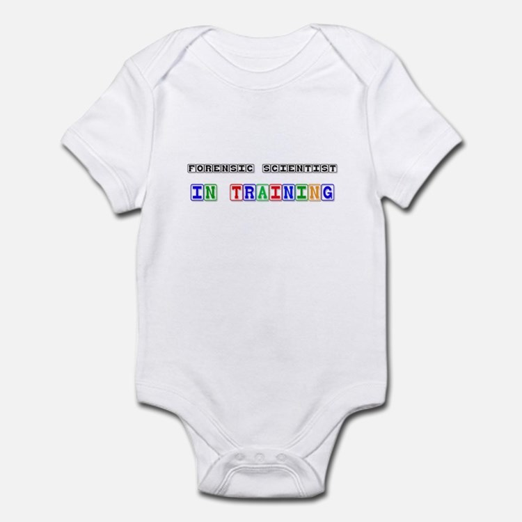 Forensic Scientist In Training Infant Bodysuit