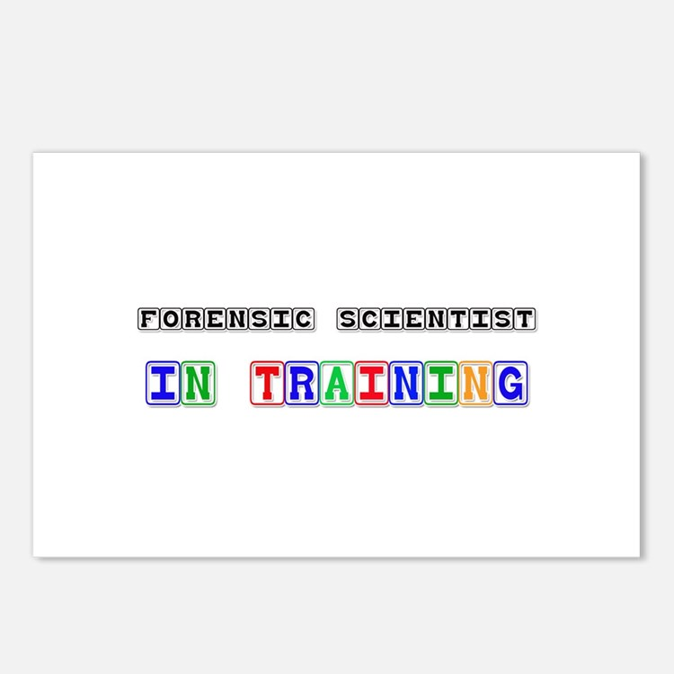 Forensic Scientist In Training Postcards (Package
