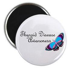 Butterfly Awareness 3 (Thyroid Disease) Magnet