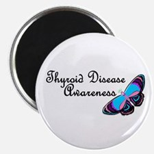 Butterfly Awareness 3 (Thyroid Disease) Magnet