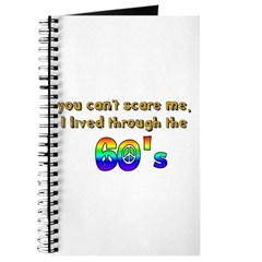 you can't scare me..60's Journal