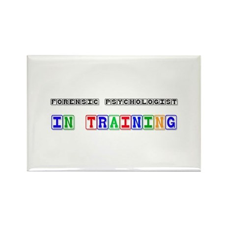 Forensic Psychologist In Training Rectangle Magnet