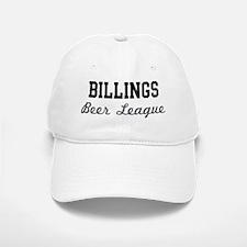 Billings Beer League Baseball Baseball Cap