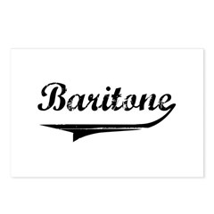 Baritone Swish Postcards (Package of 8)