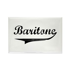 Baritone Swish Rectangle Magnet (10 pack)