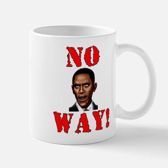No Way Obama Mug