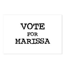 Vote for Marissa Postcards (Package of 8)