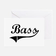 Bass Swish Greeting Card