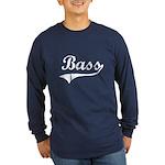 Bass Swish Long Sleeve Dark T-Shirt