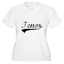 Tenor Women's Plus Size V-Neck T-Shirt