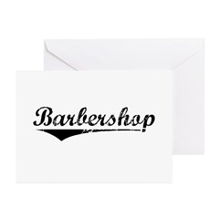 barbershop Greeting Cards (Pk of 10)