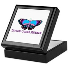 Butterfly Survivor 2 (Thyroid Cancer) Keepsake Box
