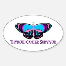 Butterfly Survivor 2 (Thyroid Cancer) Decal
