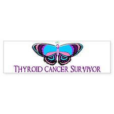 Butterfly Survivor 2 (Thyroid Cancer) Bumper Sticker