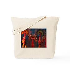 Mexican Fokloric Dancers Tote Bag