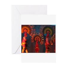 Mexican Fokloric Dancers Greeting Card