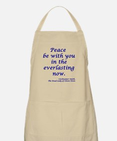 Peace be with you... BBQ Apron