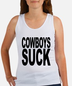 Cowboys Suck Women's Tank Top