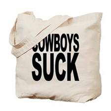 Cowboys Suck Tote Bag