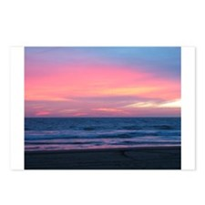 Mexican Sunset Over the Ocean Postcards (Package o