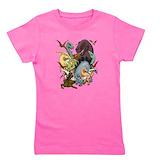 Animals Girl's Dark T-Shirt