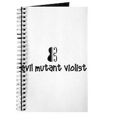 Cute Viola clef Journal