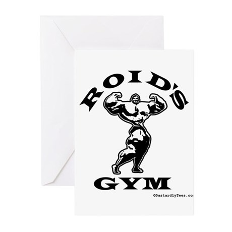 Roid's Gym Greeting Cards (Pk of 10)