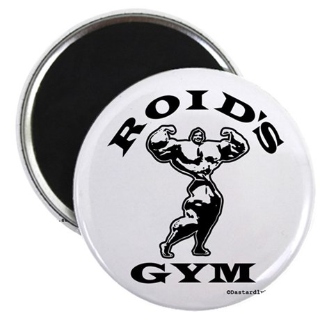 """Roid's Gym 2.25"""" Magnet (100 pack)"""