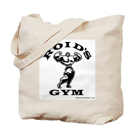 Roid's Gym Tote Bag