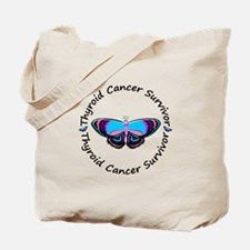 Butterfly Survivor 3 (Thyroid Cancer) Tote Bag