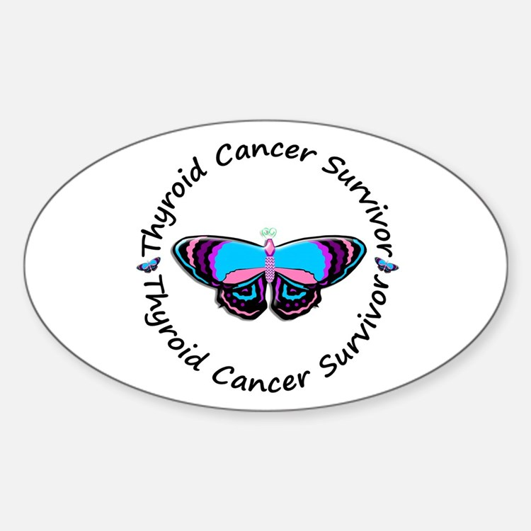 Butterfly Survivor 3 (Thyroid Cancer) Decal