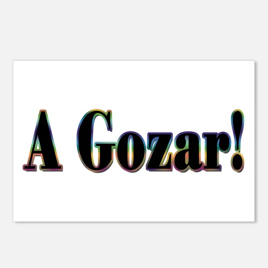 A Gozar! Postcards (Package of 8)