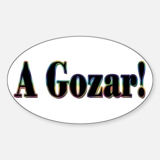 A Gozar! Oval Decal