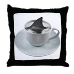 cuppa joe? Throw Pillow