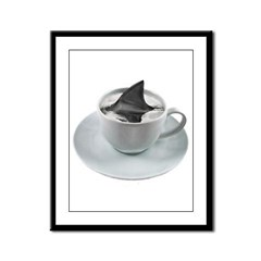 cuppa joe? Framed Panel Print