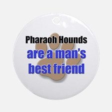 Pharaoh Hounds man's best friend Ornament (Round)