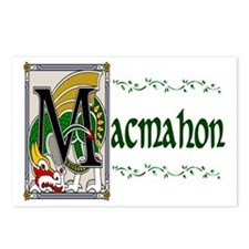 MacMahon Celtic Dragon Postcards (Package of 8)