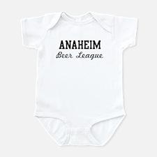 Anaheim Beer League Infant Bodysuit