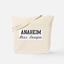 Anaheim Beer League Tote Bag