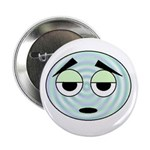 funny silly face Button