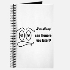 funny silly face Journal